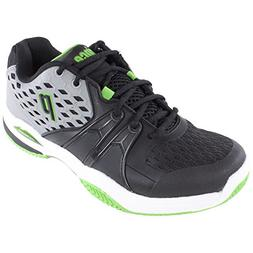 Men`s Warrior Clay Tennis Shoes Gray and Black