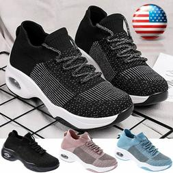 Women's Air Cushion Sneakers Athletic Outdoor Casual Sports