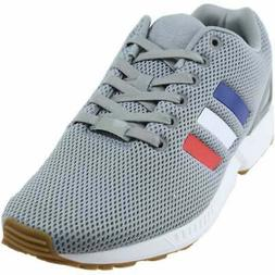 adidas ZX FLUX  Casual Tennis Court Shoes Grey Mens - Size 5